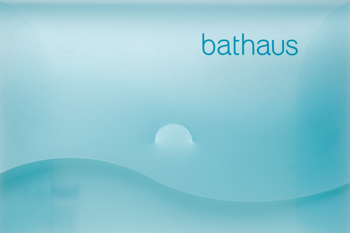 Bathaus branding by Broadbase