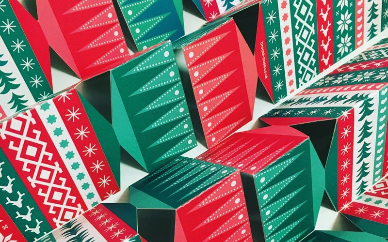 Christmas card, design and illustration by Broadbase