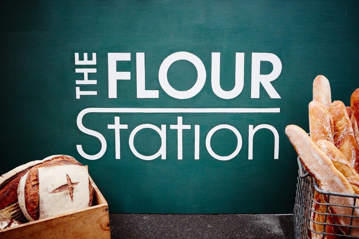 The Flour Station branding by Broadbase