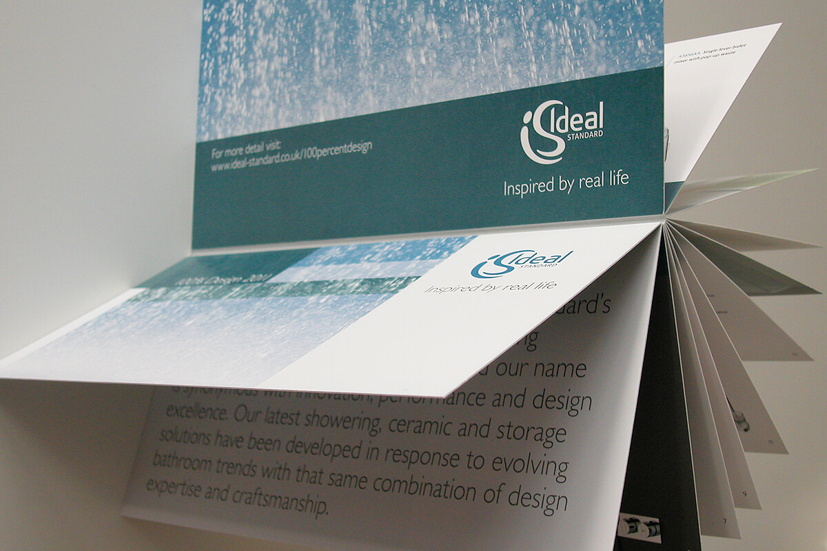 Print collateral: brochure design by Broadbase
