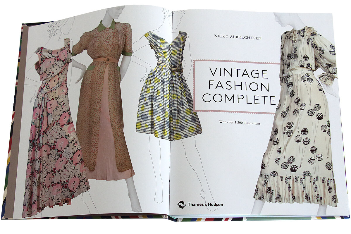 Book design by Broadbase: Vintage Fashion Complete