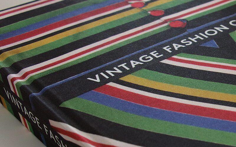 Vintage Fashion complete, book design by Broadbase