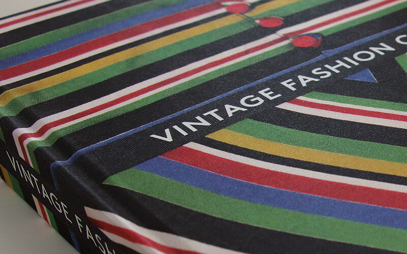 Vintage Fashion complete, book design by Broadbase